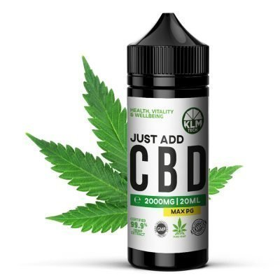 2000mg CBD Eliquid & Vape oil base mix | CBD Concentrate | Just ADD CBD | 20ml | CBD SHOT