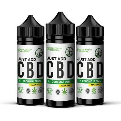 MULTIBUY - 2000mg - 3 x 20ml CBD Eliquid & Vape oil base mix | CBD Concentrate | Just ADD CBD | CBD SHOTS