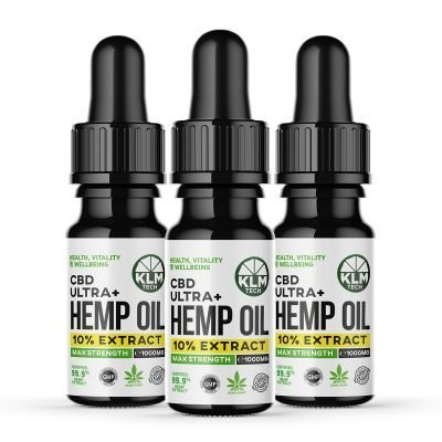 Multipack 3 x 10ml CBD Hemp Oral Ultra+ Oil!