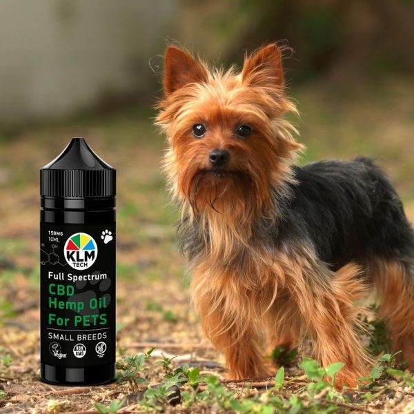 SMALL PET BREEDS CBD hemp oil for dogs 150mg