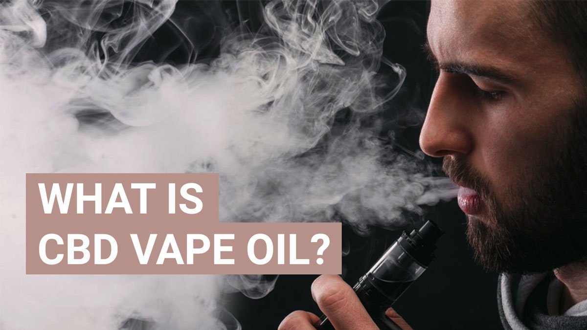 What is CBD vape oil