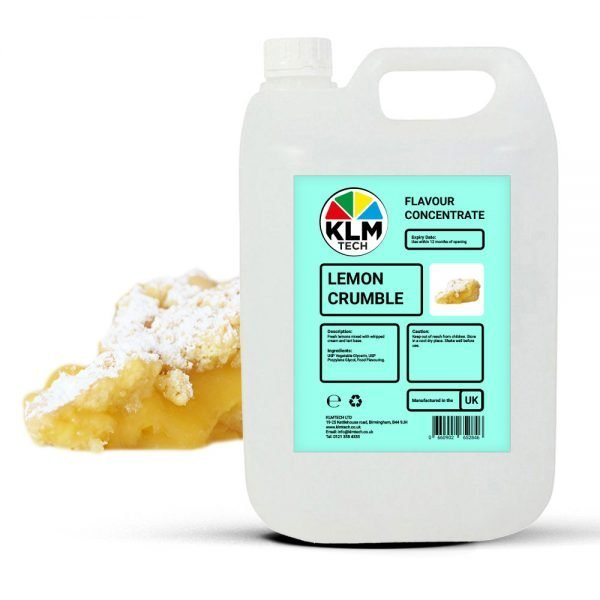 Lemon Crumble Flavour Concentrate