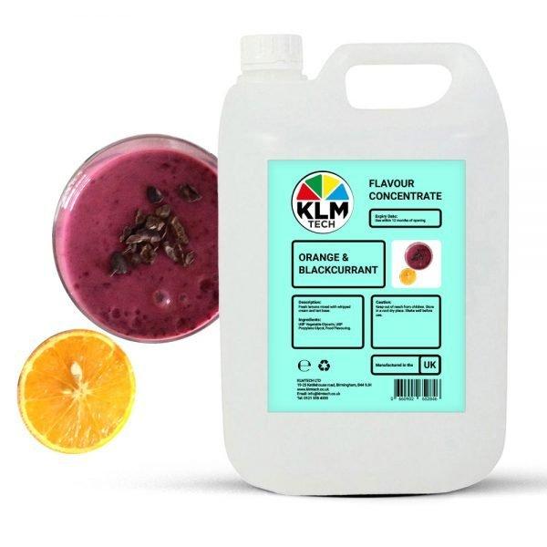 Orange & Blackcurrant Flavour Concentrate
