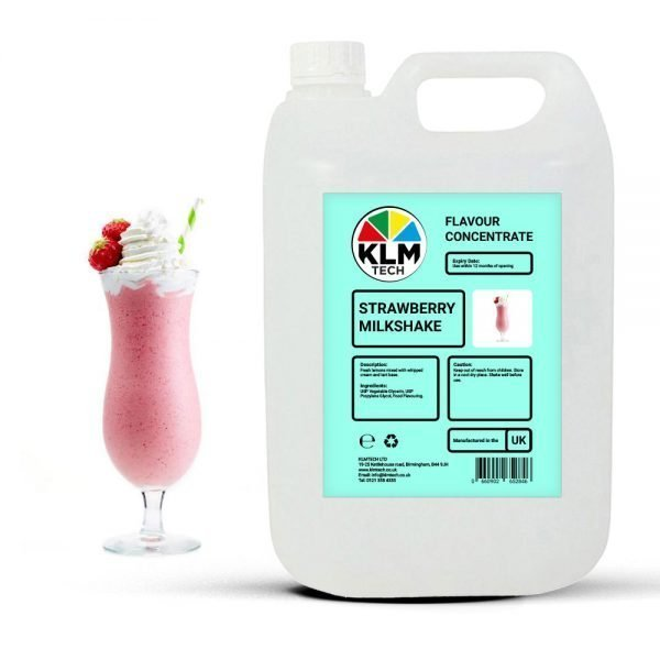 Strawberry Milkshake Flavour Concentrate