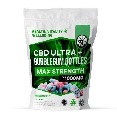 CBD Bubblegum Bottles | 1000MG | CBD Sweets UK
