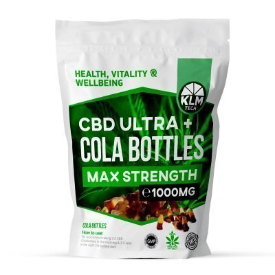 CBD Cola Bottles Sweets | 1000MG | CBD Sweets UK