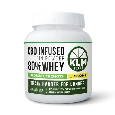 CBD Pre-Workout Energy Booster Shots | 99.9% Pure CBD | 1000MG