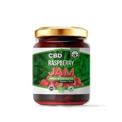 CBD Raspberry Jam | 500mg | 99.9 Pure CBD Extract