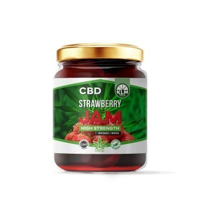 CBD Strawberry Jam | 500mg | 99.9 Pure CBD Extract