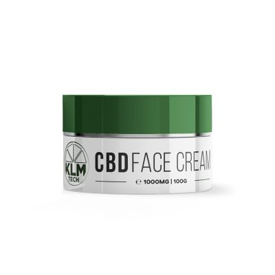 CBD Face Cream | 1000mg | 10% High Strength | KLM Beauty Tech