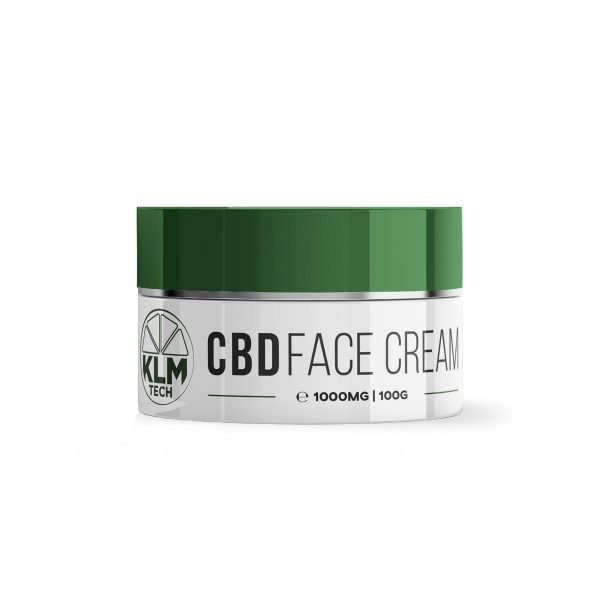 CBD Face Cream   1000mg   10% High Strength   KLM Beauty Tech
