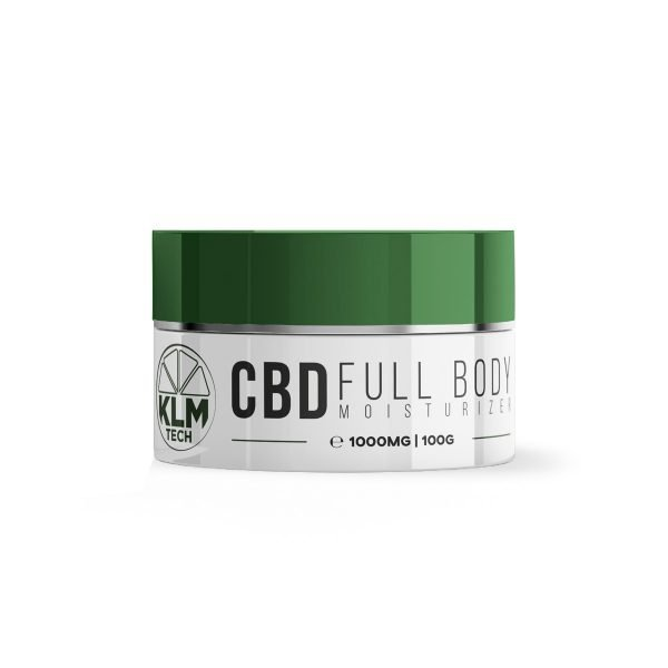 CBD Full Body Moisturizer | 1000mg | 10% High Strength | Anti-Wrinkle & Aging Cream