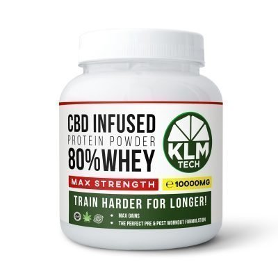 CBD Pre-Workout Energy Booster Shots | 99.9% Pure CBD | 10000MG